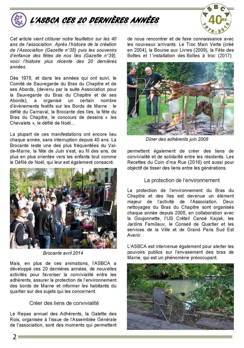 Gazette Du Chat Pitre Numero 40 Page 02