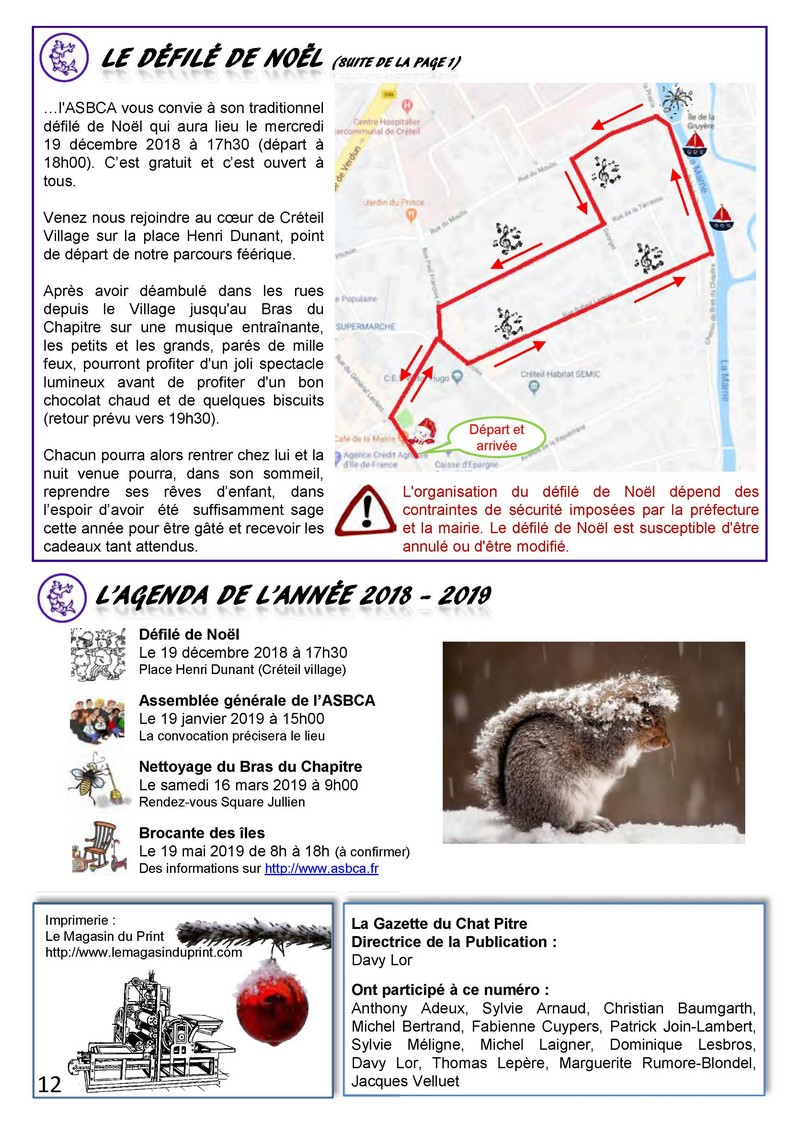 Gazette Du Chat Pitre Numero 40 Page 12