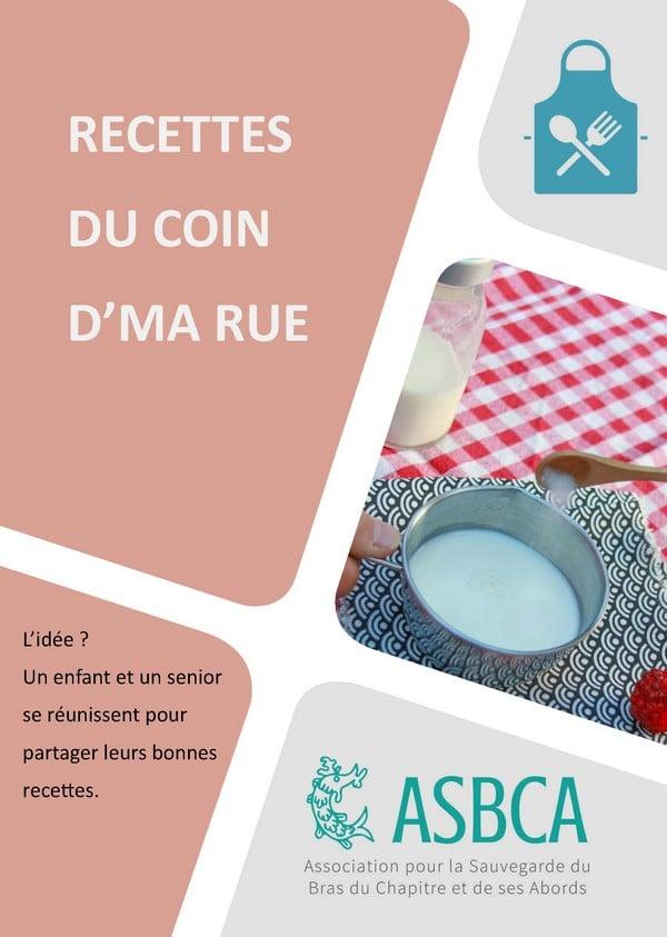 Livret Recette Du Coin De Ma Rue V6 Page 01