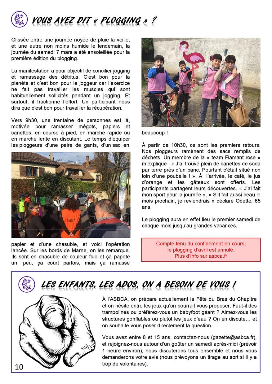 Gazette du Chat Pitre numero 44 Page 10