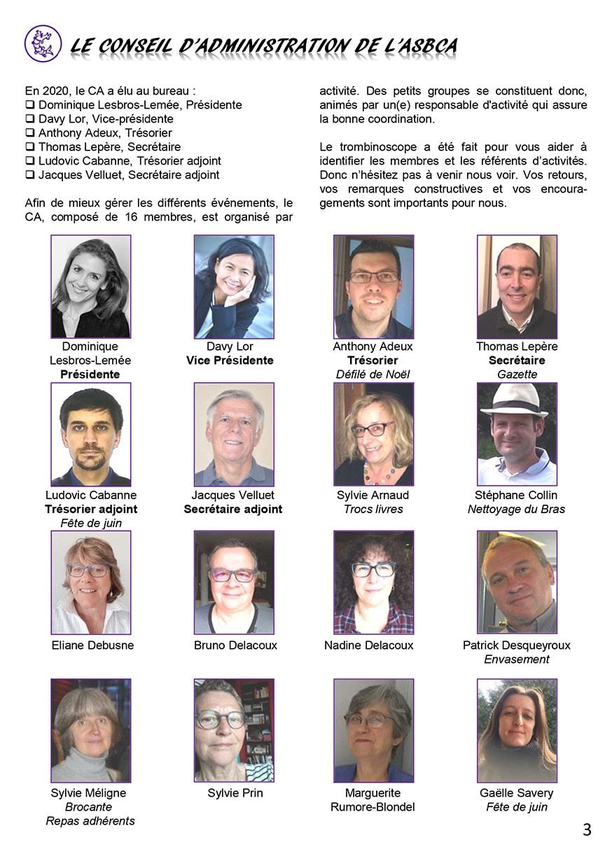 Gazette du Chat Pitre numero 44 Page 3