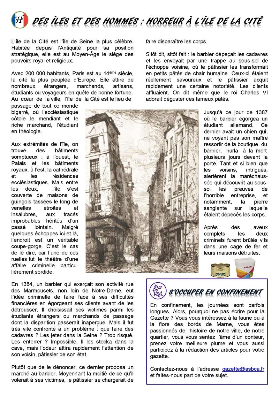 Gazette du Chat Pitre numero 44 Page 4
