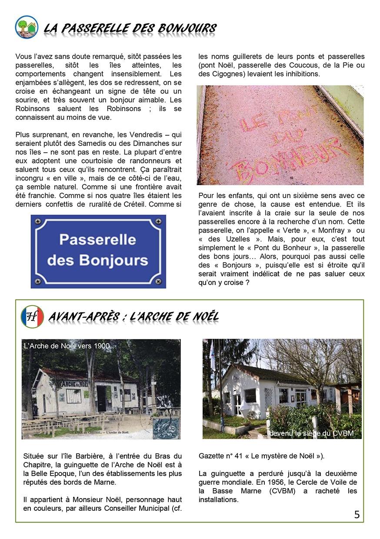 Gazette du Chat Pitre numero 44 Page 5